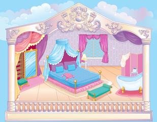 Fairytale Luxury Princess Bedroom