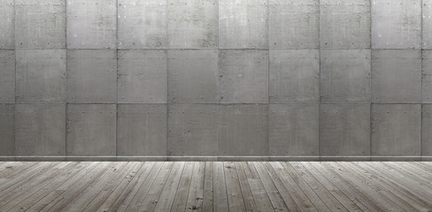 modern emty room