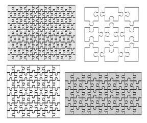 2d cartoon illustration of puzzle