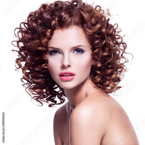 Brunette Curly Hair 70