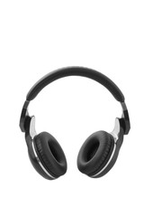 black headphones,  vertical