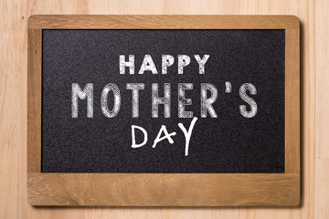Slate blackboard mother day