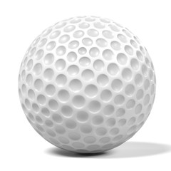 3d renderings of golf ball
