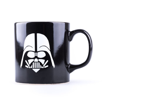 Dark vader cup editorial use only