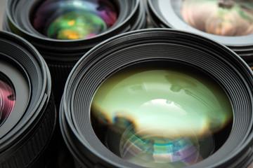 Interchangeable camera lenses