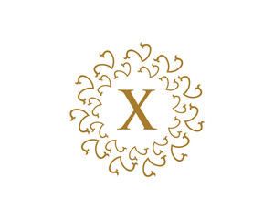 Royal Letter X Logo