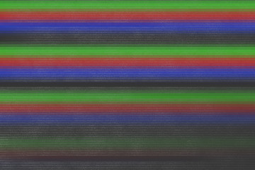 VHS RGB Glitch Texture