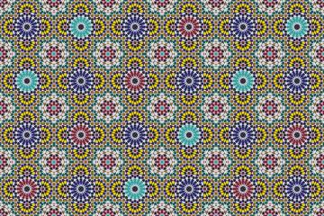 Marrakesch Mosaik Vektor
