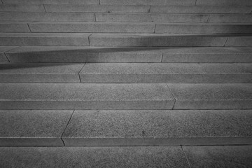 stair concrete staircase at the entrance to the building with shasow line