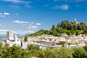 Fototapete - Forcalquier, Provence, France