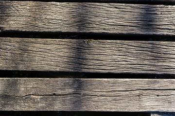 Texture di legno, vecchio tavolo fatto di assi usate