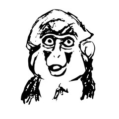 Emotional monkey abstraction