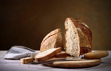 Sourdough bread with organic flour type 2 - Pane a lievitazione naturale con farina biologica tipo 2