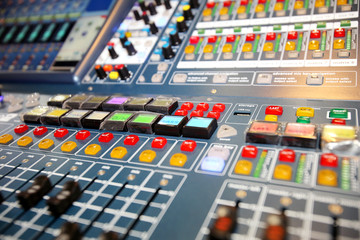 Professional sound  equipment,mixer,equalizer,amplifier