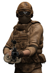 mercenary brown camouflage