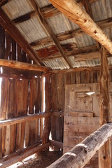 Horse Stall in an Old Mountain Stable