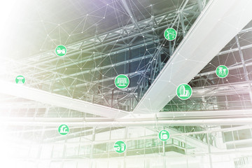 smart energy, smart grid, abstract image visual