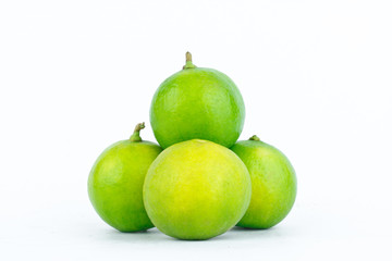 Lime fruits vegetables are used as the primary ingredient in cooking.
