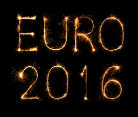 firework sign of Football Euro 2016