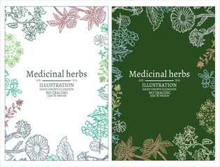 Herbs banners