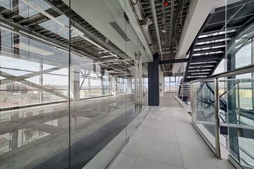 Modern interior. Modern architecture