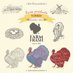 Turkey farm collection