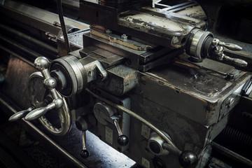 The old machine tool equipment