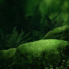 Garden Poster Forest Dark magic forest
