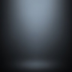 Abstract gradient gray, used as background for display your products - Vector