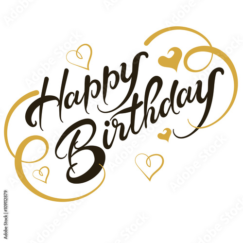 greeting card happy birthday vector stock image and royalty free rh fotolia com happy birthday vector background happy birthday vector card