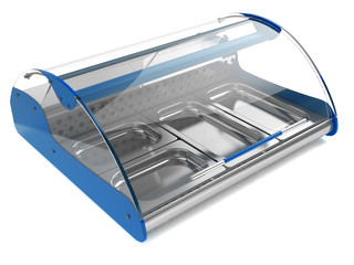 refrigeration showcase 3d