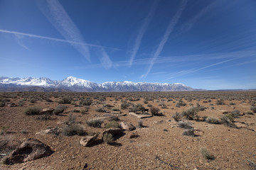 The High Sierra's near Bishop in California