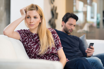 Couple in crisis
