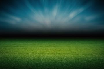 empty field at night