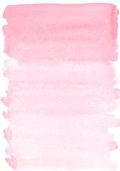 abstract watercolor background pink