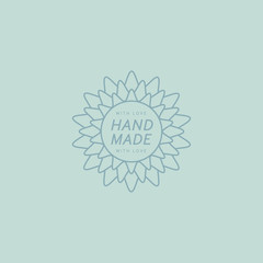 Flower Hand Made Trademark