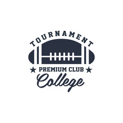 Classic Sport Label College Tournament