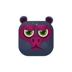 Monkey Square Icon