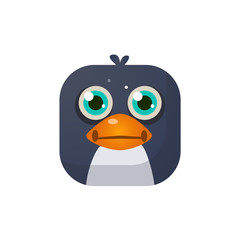Penguin Square Icon