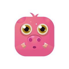 Pig Square Icon