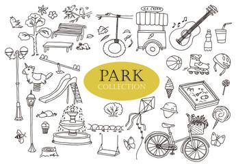Park doodles collection