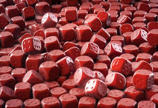 Chocolate dice