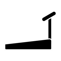 treadmill simple icon