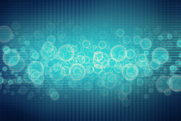 blue grid futuristic background
