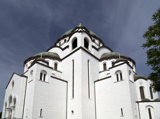 The Serbian Orthodox Christian Church of St Sava , Belgrade, Serbia.