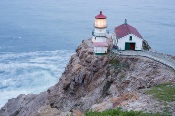 Point Reyes Lighthouse, Dusk