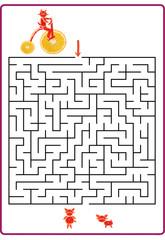 Funny maze game for Preschool Children.