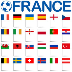 France soccer game national teams
