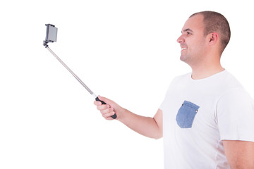 Man getting a selfie