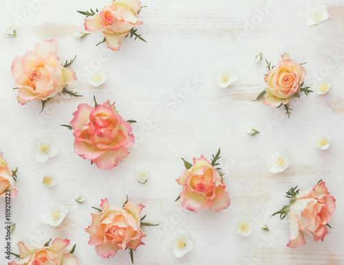 Россыпь цветов  № 2267642  скачать